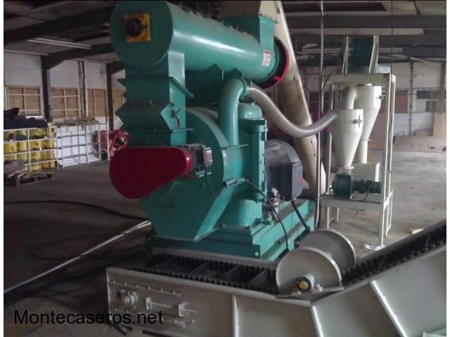 Prensa peletizadora balanceados pesada 2 a 3 toneladas por hora - MKRD508C-W
