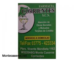 Farmacia Corrientes S.C.S.